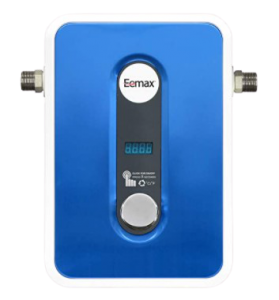 Eemax EEM24013 Electric Tankless Water Heater, Blue; instant water heater