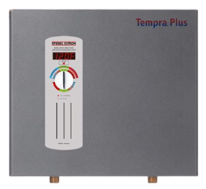 Stiebel Eltron Tempra Plus 29 kW, tankless electric water heater with Self-Modulating Power Technology & Advanced Flow Control; instant hot water heater