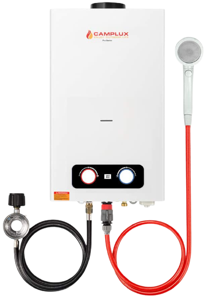 Camplux 2.64 GPM Tankless Propane Outdoor Portable Gas Water Heater