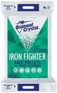 Diamond Crystal Iron Fighter Pellets salt water softener