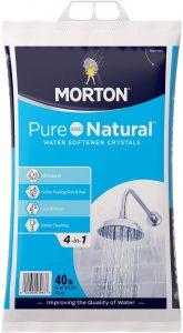 Morton U26624S Natural Water Softening Crystals salt for water softener