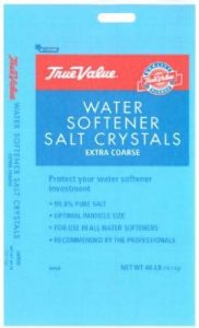 Coarse Water Conditioning Salt Crystals best salt for water softener