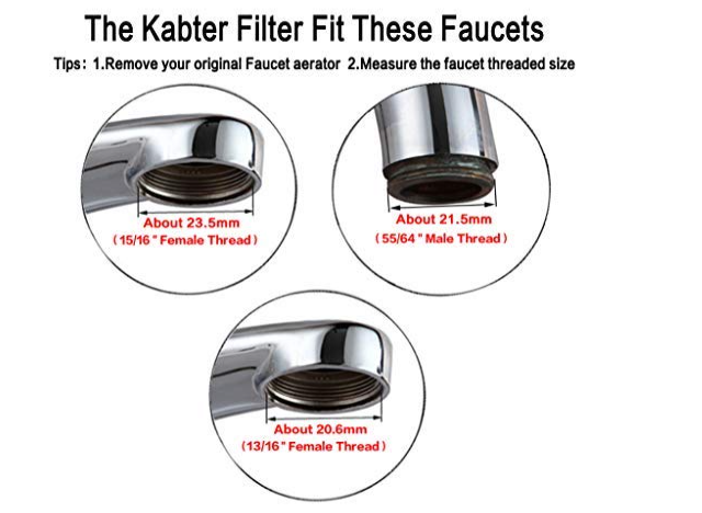 How to install Kabter Faucet Mount Water Filter System